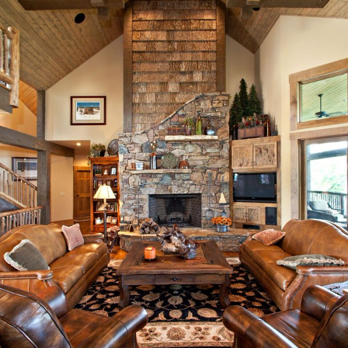 Mountain Lodge Homes By Tyner Construction