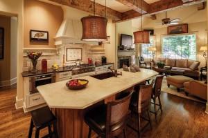 Mountain Transitional - Kitchen