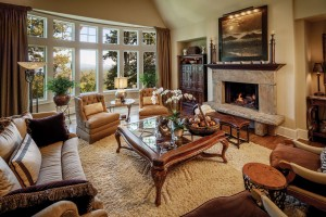 Mountain Transitional - Living Room