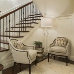 Old World Transitional - Stairs Seating Area