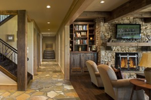 Timber and Stone home interior