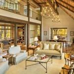 custom home living room airy and warm