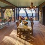 custom home porch