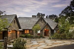 custom home stone flagstone