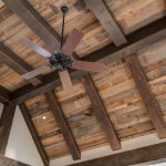 Reclaimed Post and beam ceiling