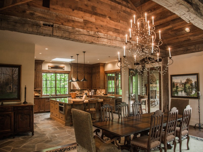 Reclaimed Post and Beam