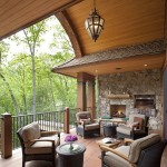 Shake and Stone - Covered Porch